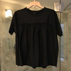 COS Navy Blouse